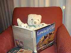 Reading about Lewis and Clark