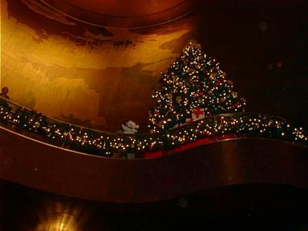 In the Lobby at Radio City Music Hall