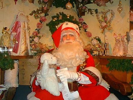 Perry Meets Santa
